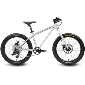 "Early Rider Hellion Trail MTB Hardtail 20"" Kids, brushed aluminum"